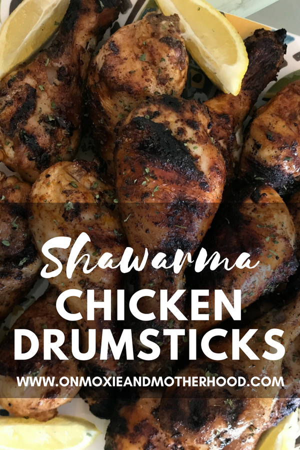 Shawarma Chicken Recipe with marinated vegetables Pinterest