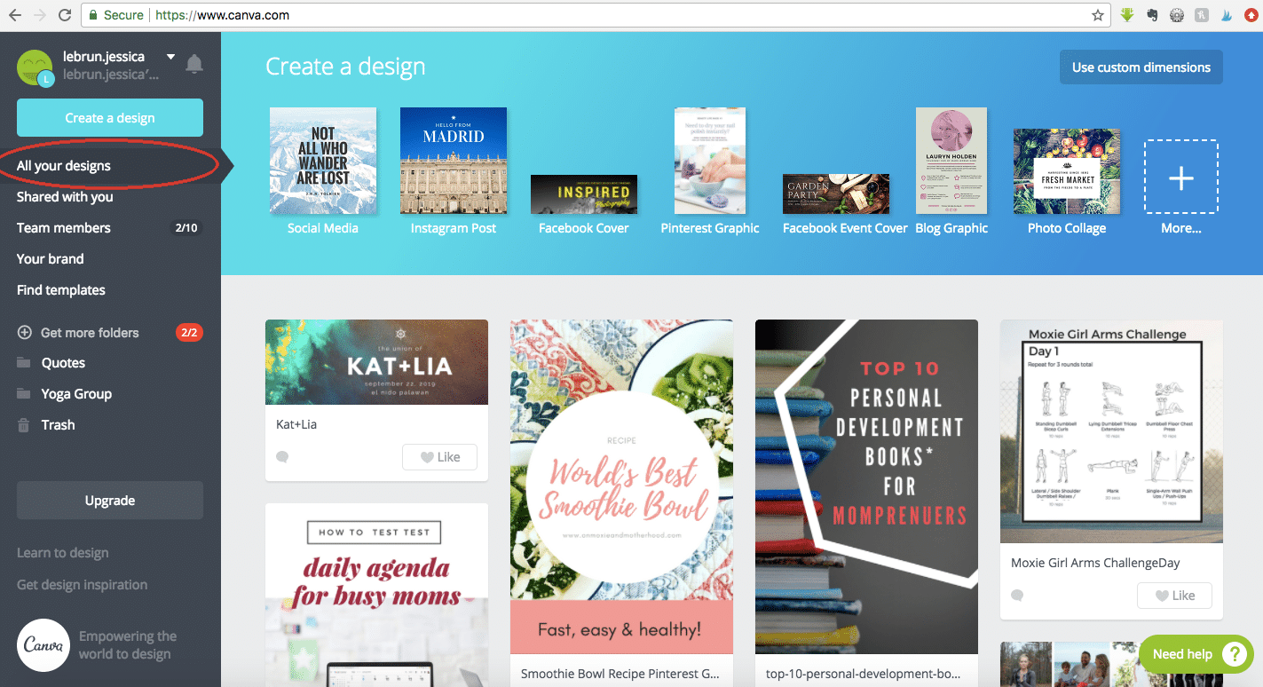 Canva Graphics Library