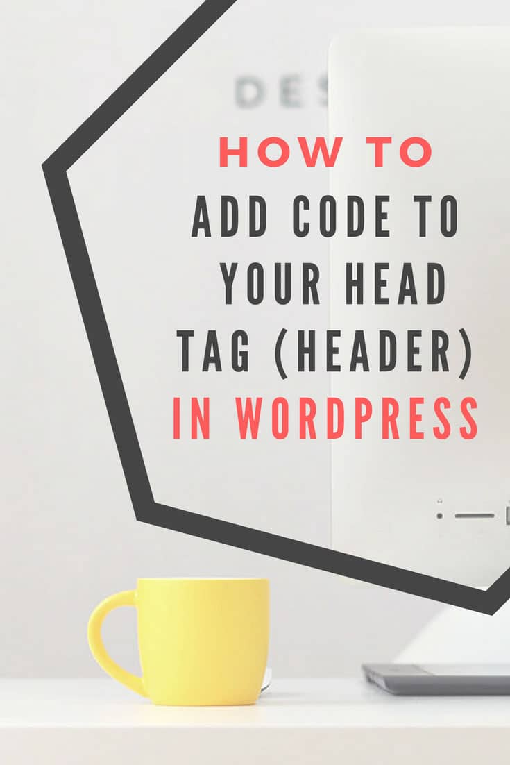 How to add code to the header in WordPress sites