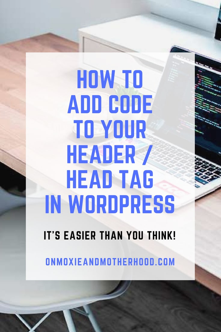 Add code to header in wordpress