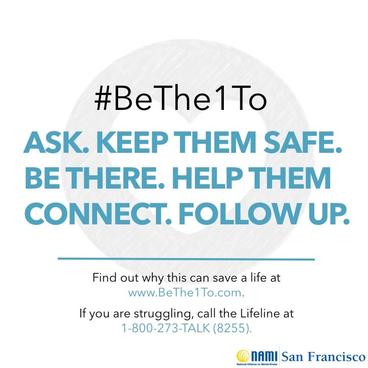 BeThe1To Prevent Suicide