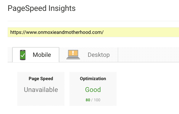 Page Speed Results after Switching Hosting Companies
