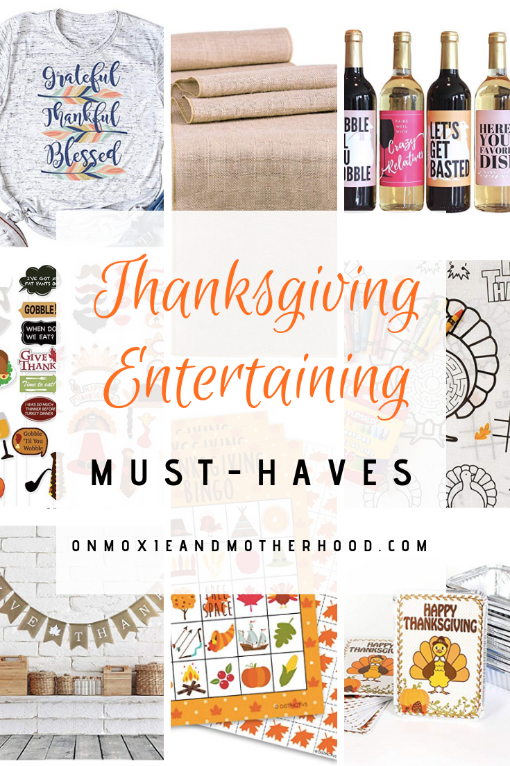Thanksgiving Entertaining Must-Haves