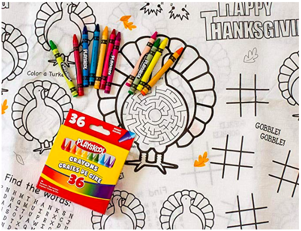 Kids Tablecloth for Thanksgiving