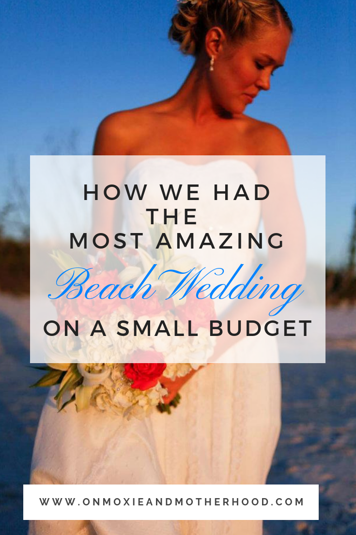 beach wedding small budget