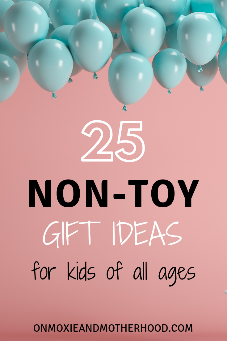gift ideas non-toy