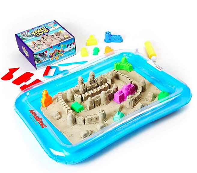 kinetic sand sandcastle building set