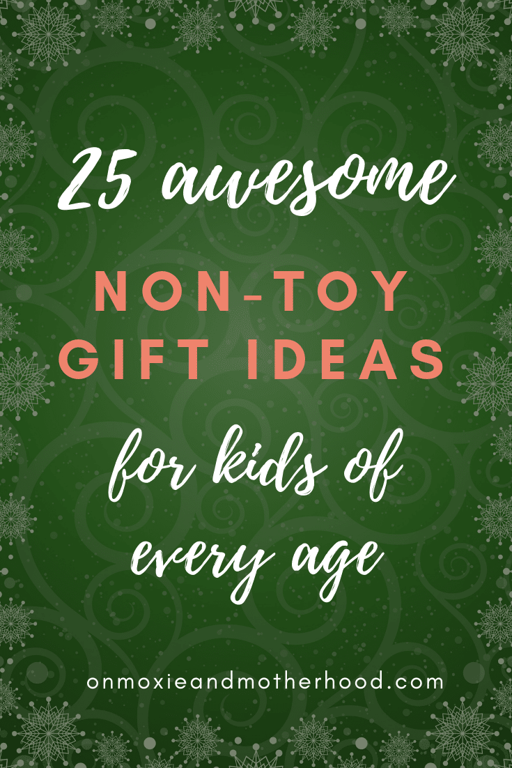 Kids non-toy gift ideas