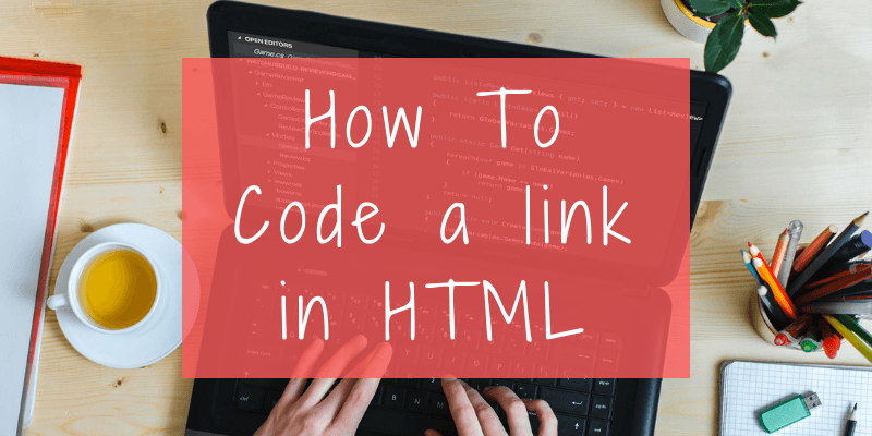 create hyperlink in html