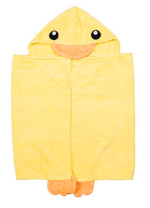 free baby stuff hooded towel