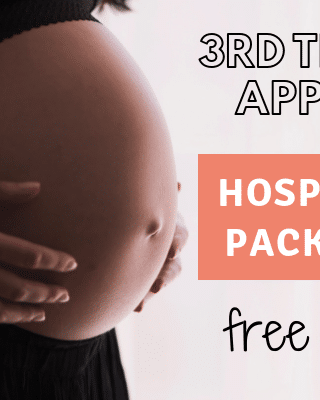 hospital bag packing list printable