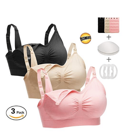 labor hospital bag sleep nursing bra