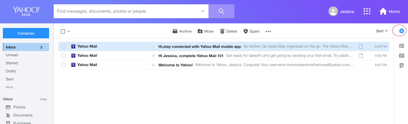 how to create an email signature yahoo