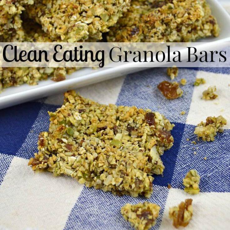 Clean Eating Granola Bars