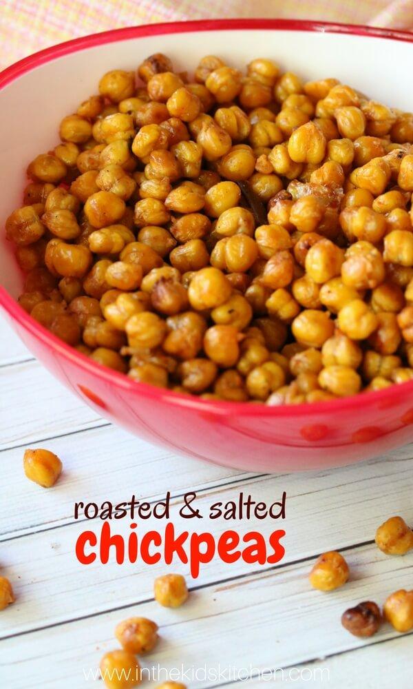 Crunchy Roasted Chickpeas Snack Recipe