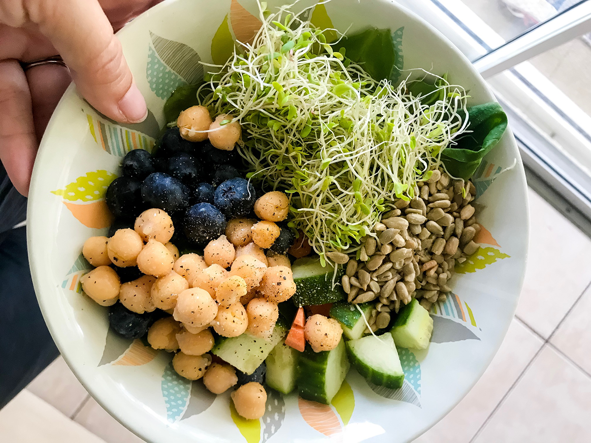 plant based vegan nourish bowl
