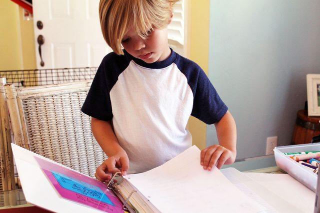 first year of homeschooling portfolio
