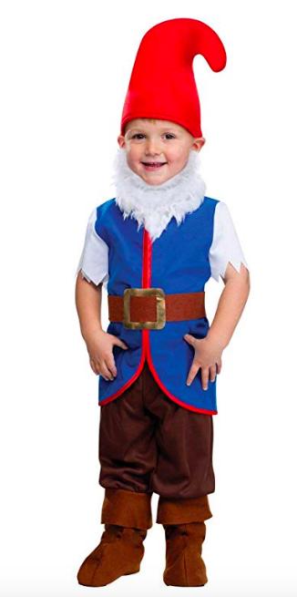 boys gnome costume