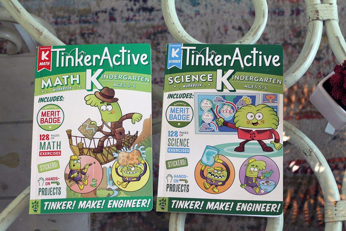 TinkerActive Workbooks Kindergarten