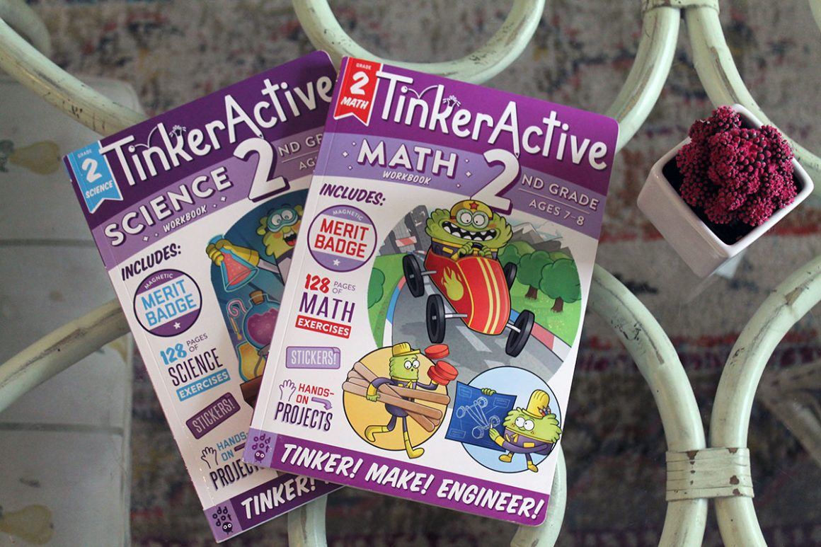 TinkerActive Workbooks Second Grade