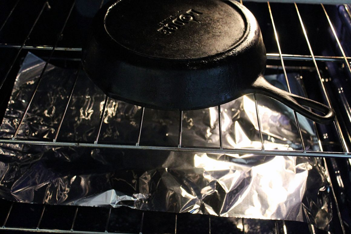 caring for cast iron skillet