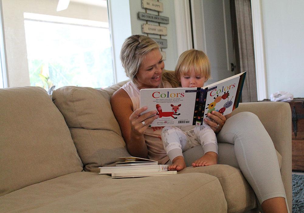 priddy books reading toddler